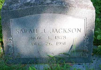 JACKSON, SARAH J - Delaware County, Oklahoma   SARAH J JACKSON - Oklahoma Gravestone Photos