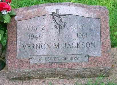 JACKSON, VERNON M. - Delaware County, Oklahoma | VERNON M. JACKSON - Oklahoma Gravestone Photos