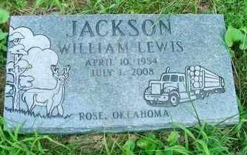 JACKSON, WILLIAM LEWIS - Delaware County, Oklahoma | WILLIAM LEWIS JACKSON - Oklahoma Gravestone Photos