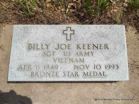 KEENER (VETERAN VIET), BILLY JOE - Delaware County, Oklahoma | BILLY JOE KEENER (VETERAN VIET) - Oklahoma Gravestone Photos