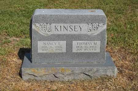 KINSEY, THOMAS M - Delaware County, Oklahoma | THOMAS M KINSEY - Oklahoma Gravestone Photos