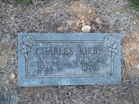 KIRBY, CHARLES - Delaware County, Oklahoma   CHARLES KIRBY - Oklahoma Gravestone Photos