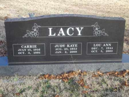 LACY, CARRIE - Delaware County, Oklahoma | CARRIE LACY - Oklahoma Gravestone Photos