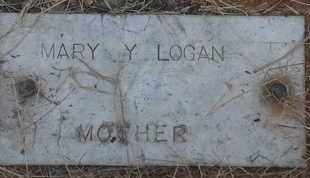 LOGAN, MARY Y - Delaware County, Oklahoma   MARY Y LOGAN - Oklahoma Gravestone Photos