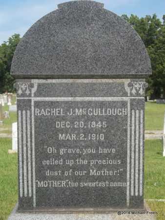 MCCULLOUGH, RACHEL J - Delaware County, Oklahoma   RACHEL J MCCULLOUGH - Oklahoma Gravestone Photos