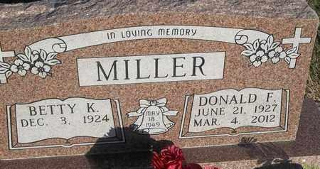 MILLER, DONALD F - Delaware County, Oklahoma | DONALD F MILLER - Oklahoma Gravestone Photos
