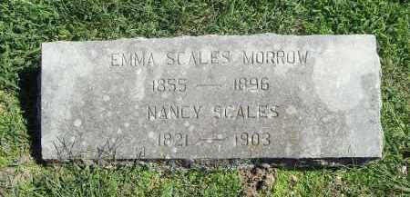 MORROW, EMMA SCALES - Delaware County, Oklahoma | EMMA SCALES MORROW - Oklahoma Gravestone Photos