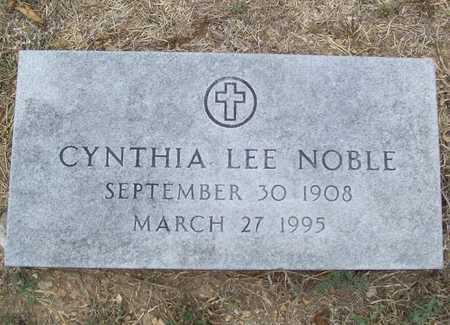 NOBLE, CYNTHIA LEE - Delaware County, Oklahoma | CYNTHIA LEE NOBLE - Oklahoma Gravestone Photos