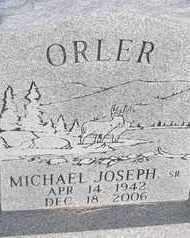 ORLER, SR, MICHAEL JOSEPH - Delaware County, Oklahoma | MICHAEL JOSEPH ORLER, SR - Oklahoma Gravestone Photos