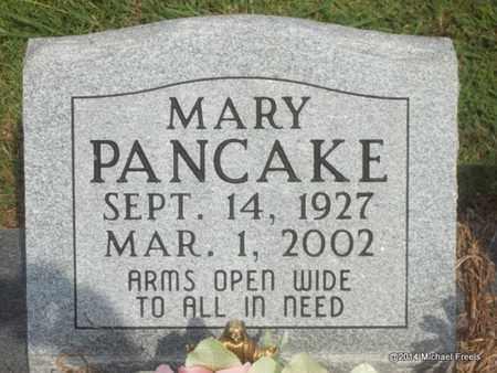 PANCAKE, MARY - Delaware County, Oklahoma | MARY PANCAKE - Oklahoma Gravestone Photos