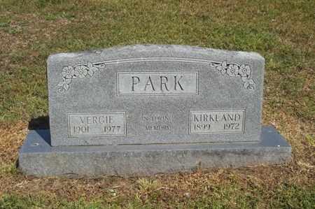 PARK, VERGIE - Delaware County, Oklahoma   VERGIE PARK - Oklahoma Gravestone Photos