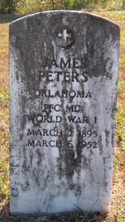 PETERS (VETERAN WWI), JAMES - Delaware County, Oklahoma | JAMES PETERS (VETERAN WWI) - Oklahoma Gravestone Photos