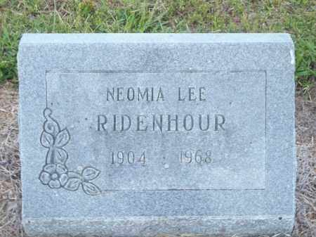 KIRBY RIDENHOUR, NEOMIA LEE - Delaware County, Oklahoma | NEOMIA LEE KIRBY RIDENHOUR - Oklahoma Gravestone Photos