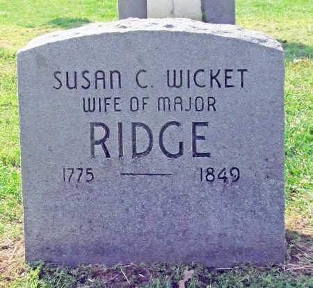 RIDGE, SUSAN C - Delaware County, Oklahoma | SUSAN C RIDGE - Oklahoma Gravestone Photos