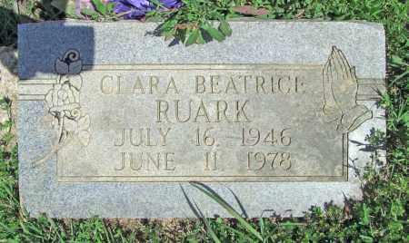 RUARK, CLARA BEATRICE - Delaware County, Oklahoma | CLARA BEATRICE RUARK - Oklahoma Gravestone Photos