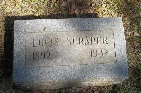 SCRAPER, LOUIS - Delaware County, Oklahoma | LOUIS SCRAPER - Oklahoma Gravestone Photos