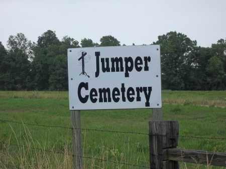 *JUMPER CEMETERY SIGN 2, . - Delaware County, Oklahoma   . *JUMPER CEMETERY SIGN 2 - Oklahoma Gravestone Photos