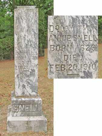 SNELL, ANNIE - Delaware County, Oklahoma | ANNIE SNELL - Oklahoma Gravestone Photos