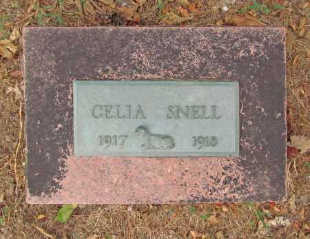 SNELL, CELIA - Delaware County, Oklahoma | CELIA SNELL - Oklahoma Gravestone Photos