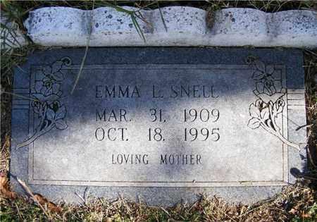 DRY SNELL, EMMA L. - Delaware County, Oklahoma | EMMA L. DRY SNELL - Oklahoma Gravestone Photos
