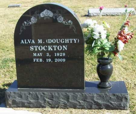 DOUGHTY STOCKTON, ALVA M. - Delaware County, Oklahoma | ALVA M. DOUGHTY STOCKTON - Oklahoma Gravestone Photos