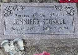 STOVALL, JENNIFER - Delaware County, Oklahoma | JENNIFER STOVALL - Oklahoma Gravestone Photos