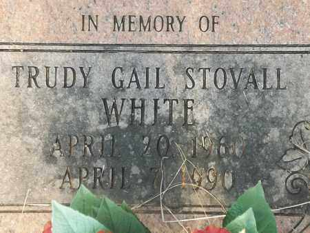 STOVALL STOVALL, TRUDY GAIL - Delaware County, Oklahoma | TRUDY GAIL STOVALL STOVALL - Oklahoma Gravestone Photos