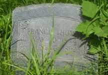 THOMAS, FRANCIS - Delaware County, Oklahoma | FRANCIS THOMAS - Oklahoma Gravestone Photos
