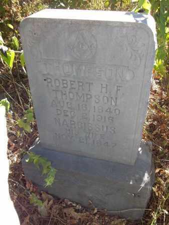 THOMPSON, ROBERT HENRY FRANKLIN - Delaware County, Oklahoma | ROBERT HENRY FRANKLIN THOMPSON - Oklahoma Gravestone Photos