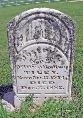 TILEY, JOSEPH C - Delaware County, Oklahoma | JOSEPH C TILEY - Oklahoma Gravestone Photos