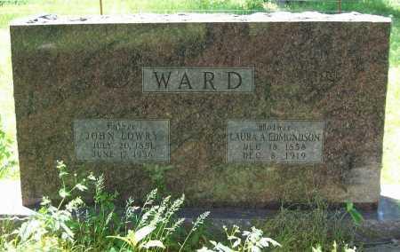 WARD, JOHN LOWRY - Delaware County, Oklahoma | JOHN LOWRY WARD - Oklahoma Gravestone Photos