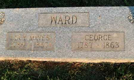WARD (VETERAN UNION), GEORGE - Delaware County, Oklahoma | GEORGE WARD (VETERAN UNION) - Oklahoma Gravestone Photos