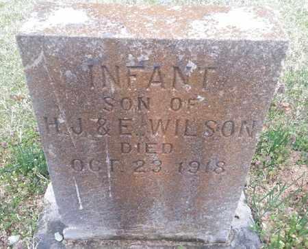 WILSON, INFANT SON - Delaware County, Oklahoma | INFANT SON WILSON - Oklahoma Gravestone Photos