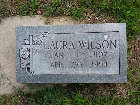 WILSON, LAURA - Delaware County, Oklahoma   LAURA WILSON - Oklahoma Gravestone Photos
