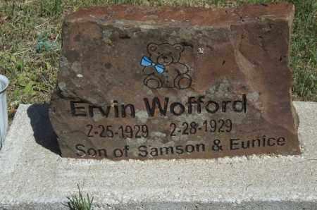 WOFFORD, ERVIN - Delaware County, Oklahoma | ERVIN WOFFORD - Oklahoma Gravestone Photos