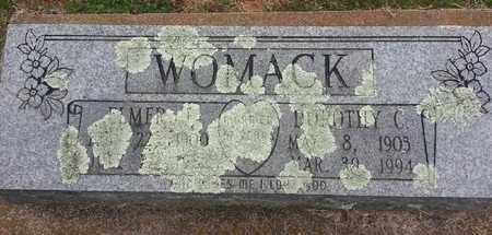 WOMACK, DOROTHY C - Delaware County, Oklahoma | DOROTHY C WOMACK - Oklahoma Gravestone Photos