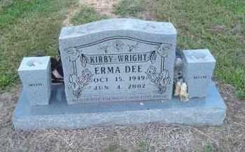 KIRBY WRIGHT, ERMA DEE - Delaware County, Oklahoma   ERMA DEE KIRBY WRIGHT - Oklahoma Gravestone Photos