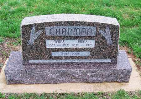 CHAPMAN, MARY - Dewey County, Oklahoma   MARY CHAPMAN - Oklahoma Gravestone Photos