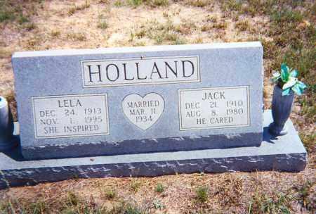 HOLLAND, JACK - Dewey County, Oklahoma | JACK HOLLAND - Oklahoma Gravestone Photos