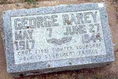 RAREY, GEORGE - Garfield County, Oklahoma | GEORGE RAREY - Oklahoma Gravestone Photos