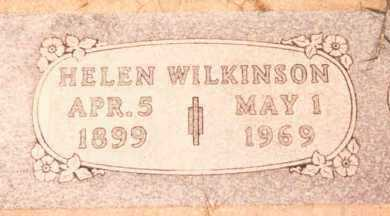 RAREY WILKINSON, HELEN - Garfield County, Oklahoma | HELEN RAREY WILKINSON - Oklahoma Gravestone Photos