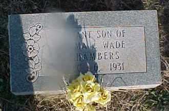 CHAMBERS, INFANT SON - Grady County, Oklahoma   INFANT SON CHAMBERS - Oklahoma Gravestone Photos