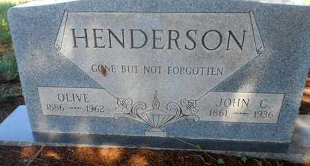HENDERSON, OLIVE - Grady County, Oklahoma | OLIVE HENDERSON - Oklahoma Gravestone Photos