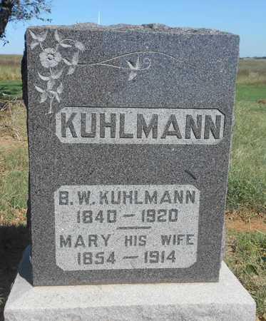 KUHLMANN, MARY - Grady County, Oklahoma   MARY KUHLMANN - Oklahoma Gravestone Photos