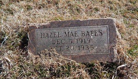 BATES, HAZEL MAE - Grant County, Oklahoma   HAZEL MAE BATES - Oklahoma Gravestone Photos