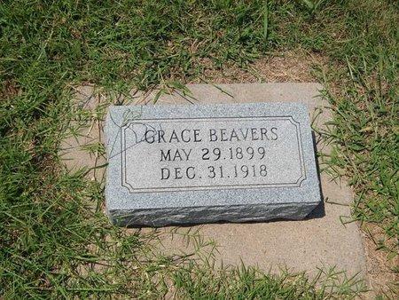BEAVERS, GRACE - Grant County, Oklahoma | GRACE BEAVERS - Oklahoma Gravestone Photos