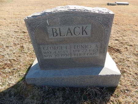 BLACK, GEORGE L - Grant County, Oklahoma | GEORGE L BLACK - Oklahoma Gravestone Photos