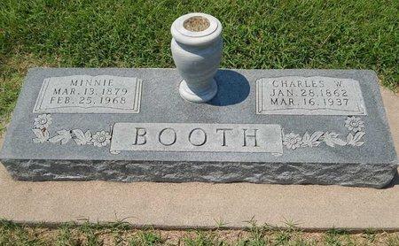 BOOTH, CHARLES W - Grant County, Oklahoma | CHARLES W BOOTH - Oklahoma Gravestone Photos