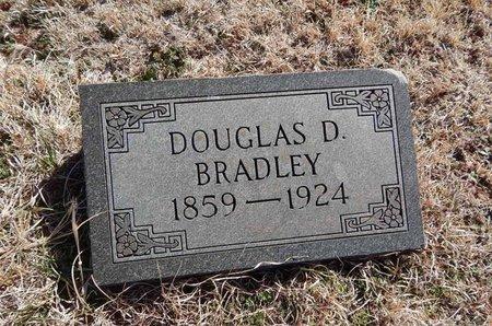 BRADLEY, DOUGLAS D - Grant County, Oklahoma | DOUGLAS D BRADLEY - Oklahoma Gravestone Photos