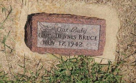 BRUCE, GARY DENNIS - Grant County, Oklahoma   GARY DENNIS BRUCE - Oklahoma Gravestone Photos